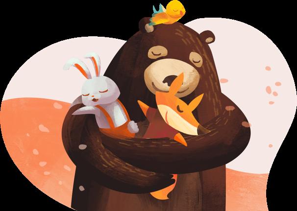Bonjoro bear hug